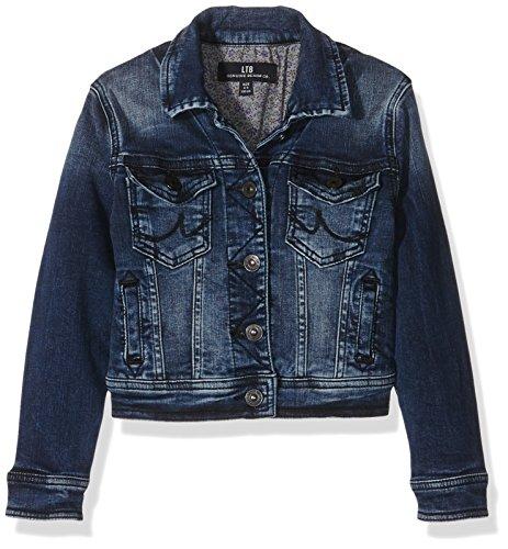 LTB Jeans Mädchen Jacke Eliza Jacket, Blau (Aisha Wash 4076), 158 (Herstellergröße: 12-13)