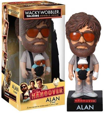 The Hangover Alan Wacky-Wobbler Talking Bobble-Head [Toy]