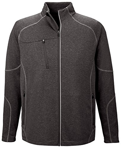Ash City - North End Gravity Performance Fleece Jacket 88174 -CARBN HEATH (Gravity Mens Jacket)