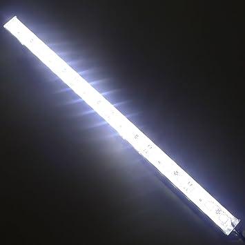 Amazon ledenet 12 6500k 7000k white super bright 18leds 5050 ledenet 12quot 6500k 7000k white super bright 18leds 5050 aquarium led strip lighting for mozeypictures Images