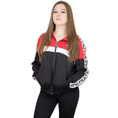 Fila Damen Trainingsjacke Urban Line Teela rot/weiß/schwarz S ...