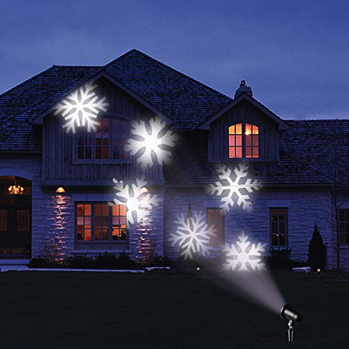 Outdoor Snowflake Light Projector in US - 4