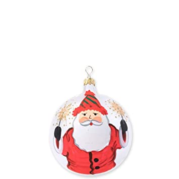 Image Unavailable - Amazon.com: Vietri Old St. Nick Limited Edition Christmas Ball