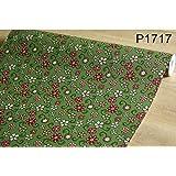 【10M】p1717 フラワー 小花柄 グリーン 壁紙 シール リフォーム 多用途 ウォールステッカー はがせる リメイクシート