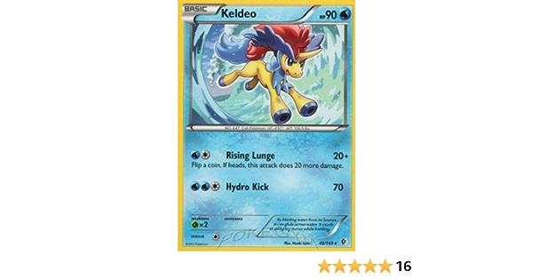 3 x Pokemon Card - NM//Mint KELDEO Boundaries Crossed 48//149 rare