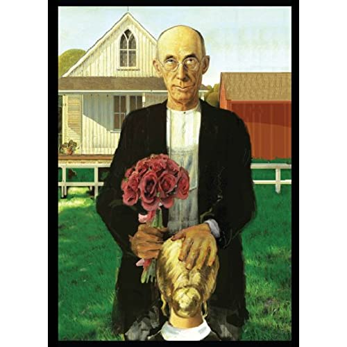 Grant Wood Parody Valentine's Day Card Sales