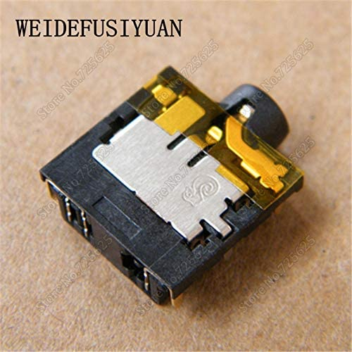ShineBear 10pcs Headphone MIC Jack Socket Connector for Acer Aspire 4741 4742 4743 4750 4743 5750 5741 5742 G S Z ZG Series PCB Audio Jack Cable Length: Other