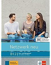 Netzwerk neu b1.2 libro del alumno y ejercicios + audio: Kurs- und Ubungsbuch B1.2 mit Audios und Videos