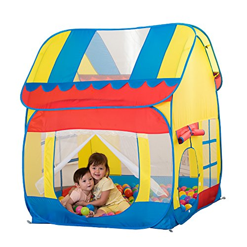 Truedays Kids Outdoor Indoor Fun Play Big Tent Playhouse