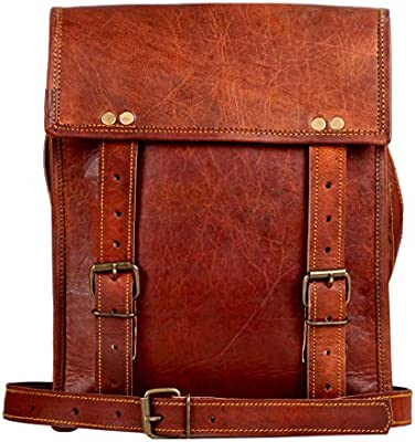 09329d54fc51 Amazon.com  Genuine Leather Messenger Bag for Men Women iPad - Vintage  Crossbody Satchel Bags by Rustic Town (11 inches)  RusticTown