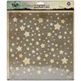 Prima Marketing Elementals Stencil, 12 by 12-Inch, Stars