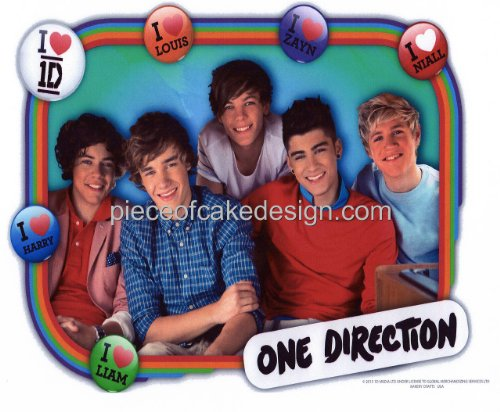 cake topper one direction - 9