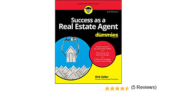 Amazon success as a real estate agent for dummies for dummies amazon success as a real estate agent for dummies for dummies business personal finance ebook dirk zeller kindle store fandeluxe Image collections
