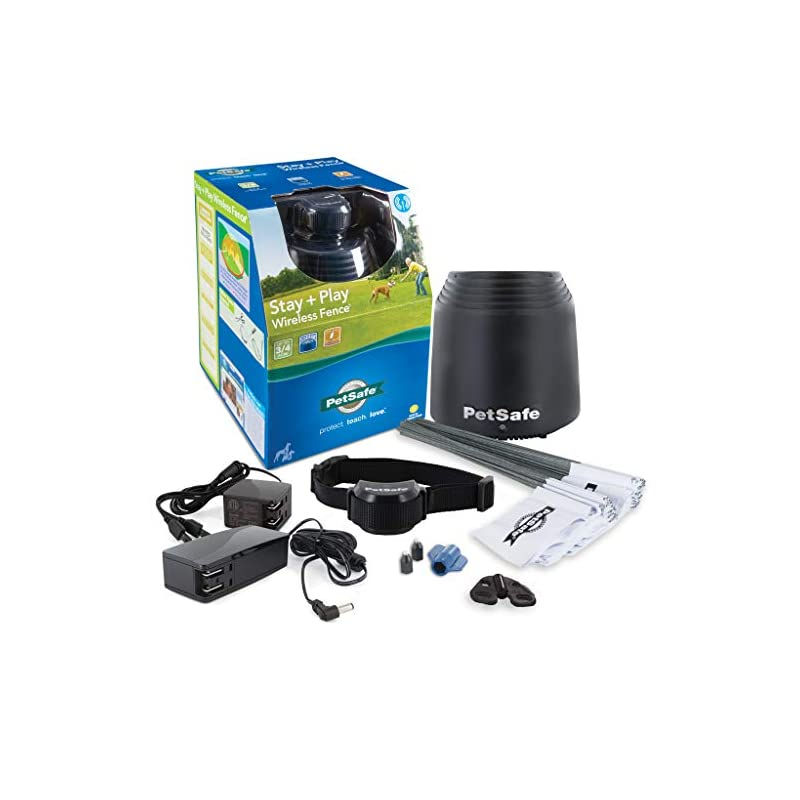 dog supplies online petsafe stay + play wireless fence
