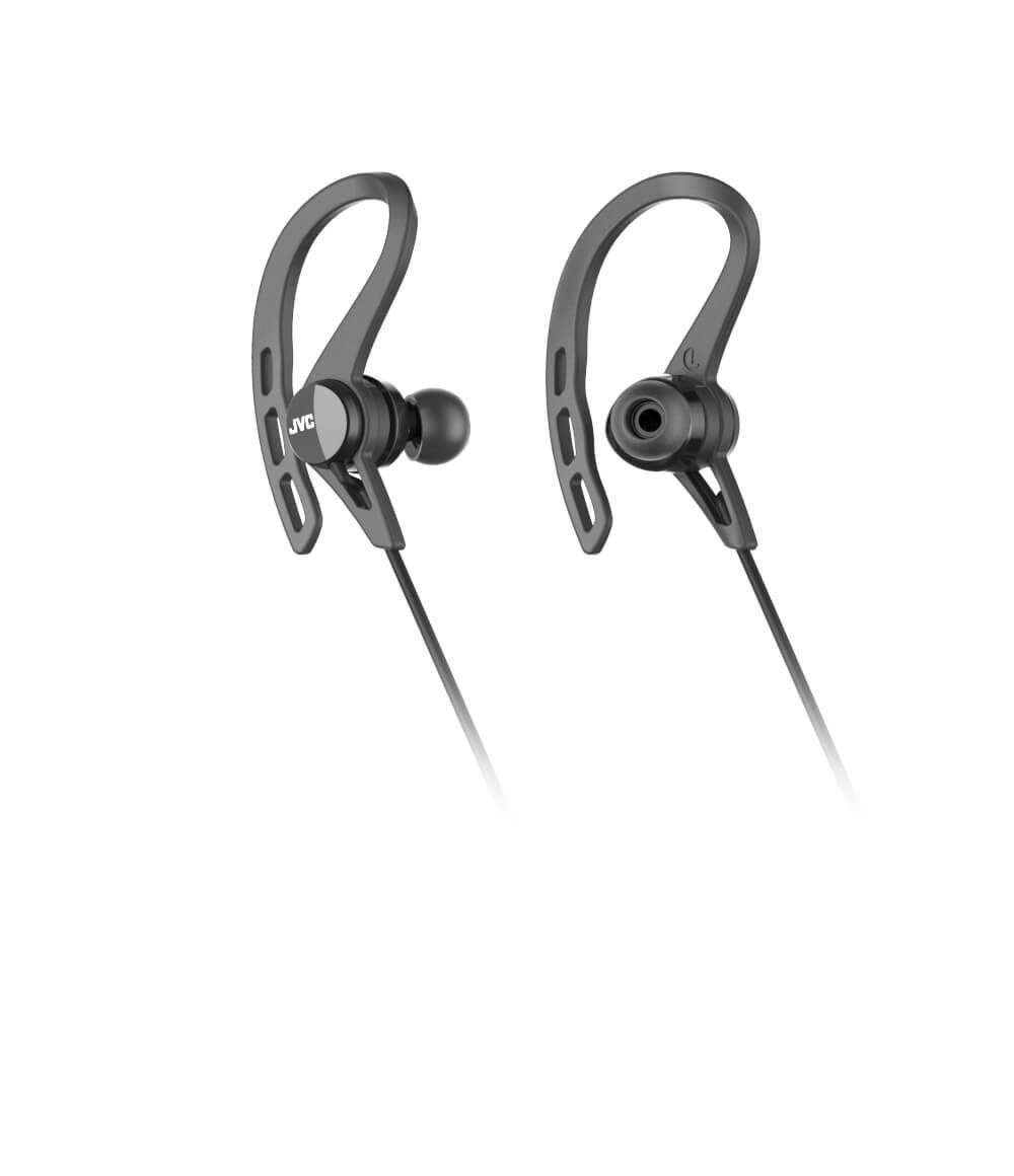Amazon.com: JVC HAEC20BTBE Sports Wireless Bluetooth in Ear Headphones with Ear Clip Black: Electronics