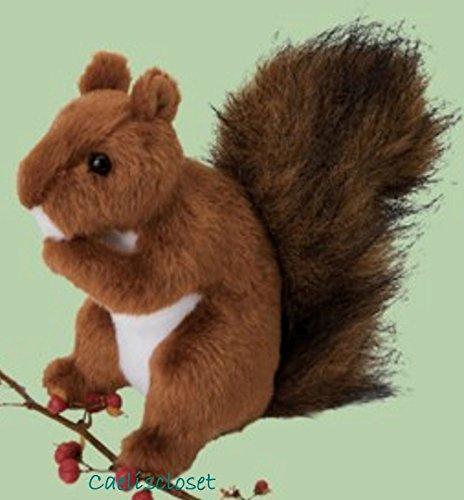 Douglas Roadie RED SQUIRREL 6`` Plush Stuffed Animal Realistic Cuddle Toy NEW .HN#GG_634T6344 G134548TY50344