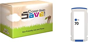 CompAndSave Replacement for HP 70 C9458A Blue Ink Cartridge
