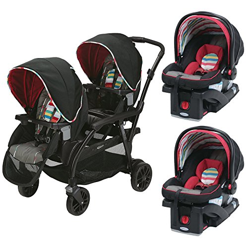 graco side by side stroller - 6