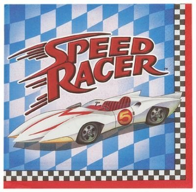Speed Racer Birthday Party Supplies (Speed Racer Large Napkins (16ct))