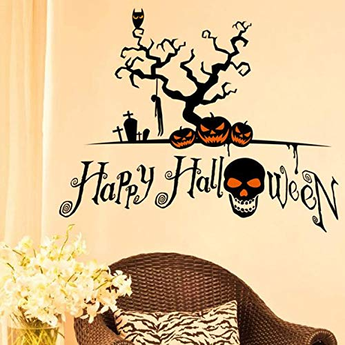 Halloween Hello Kitty Pumpkin Cut Out - OTTATAT Wall Stickers for Girls 2019,Halloween