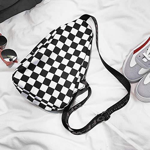 936a812a4669 Van Caro Van Caro Canvas Crossbody,Chest Pack Sport/Travel/Shopping  Shoulder Backpacks for Women Girl