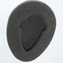 One Pair of 80mm Foam Earpads – fits Infrared Wireless Headphones in Most Automobile Entertainment DVD Player Systems