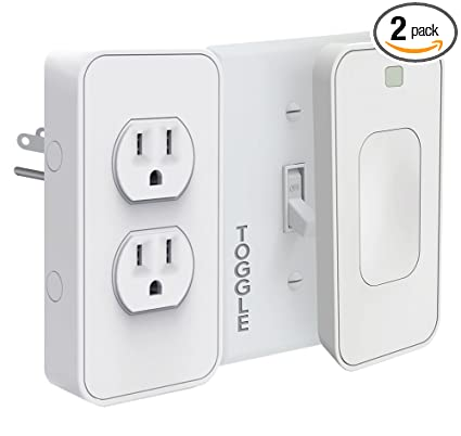 Switchmate Slim Snap On Smart Light Switch And Power Outlet Toggle