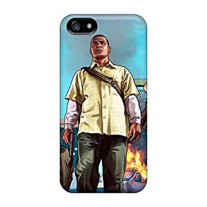 Awesome TNvksPY4305EZNSL CADike Defender Tpu Hard Case Cover For Iphone 5/5s- Gr Theft Auto V