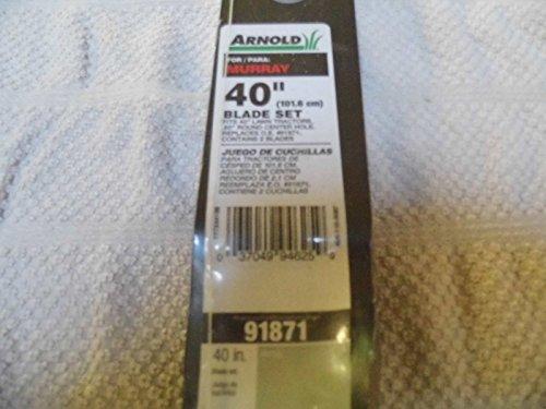 Murray Arnold 2-Pack 40-in Bagging Mower Blades Item# 230...