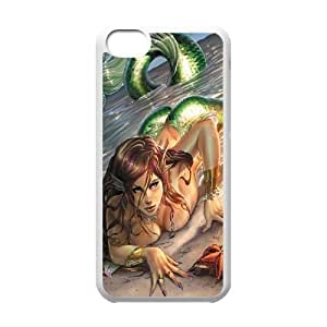 CSKFULittle mermaid GET0100979 Phone Back Case Customized Art Print Design Hard Shell Protection iphone 6 4.7 inch iphone 6 4.7 inch