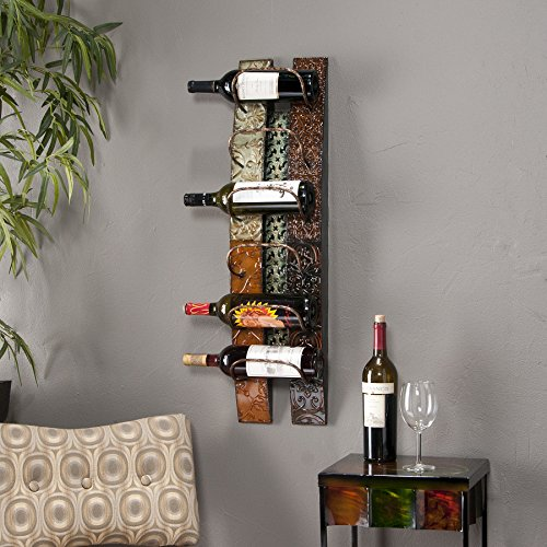 Adriano Wall-Mount Wine Storage by Southern Enterprises