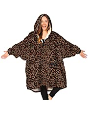 THE COMFY Original   Oversized Microfiber & Sherpa Wearable Blanket, Seen On Shark Tank, One Size Fits All…