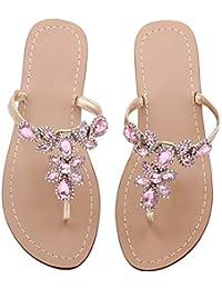 ab4ba0813 Amazon.com  11.5 - Pink   Sandals   Shoes  Clothing