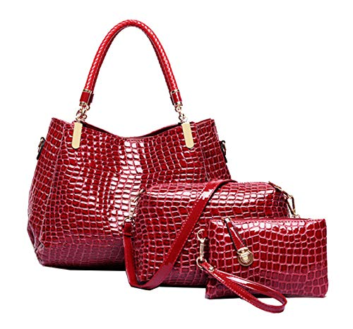 Al Mujer Para Red Morado Koon Large Hombro Bolso APqwxacH5Z