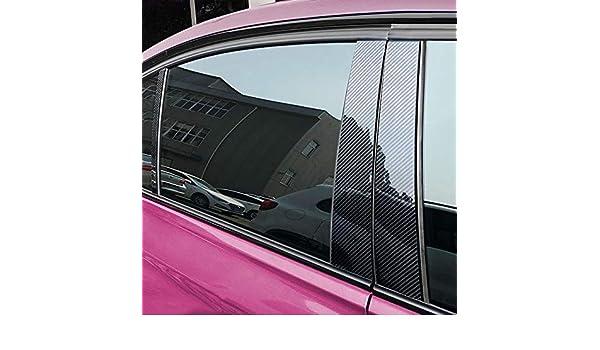 Piaobaige Pegatinas de Marco de Puerta anticolisión, para Mercedes C-Class Personalizada decoración de Cubierta de Marco de Panel de Fibra de Carbono: Amazon.es: Coche y moto