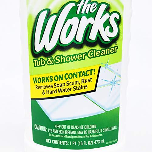 The Works Tub & Shower Cleaner 16 Fl Oz (2)