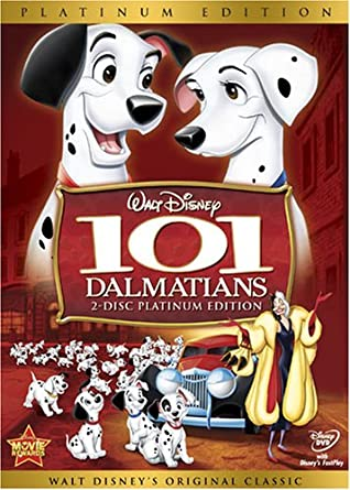 Amazon Com 101 Dalmatians Two Disc Platinum Edition Rod Taylor Betty Lou Gerson J Pat O Malley Martha Wentworth Ben Wright Cate Bauer David Frankham Frederick Worlock Lisa Davis Tom Conway Tudor Owen George Pelling