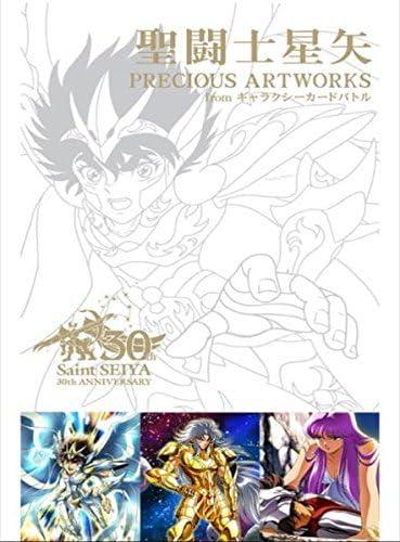Saint Seiya 30th Anniversary PRECIOUS ARTWORK BOOK from Japan manga Anime F//S