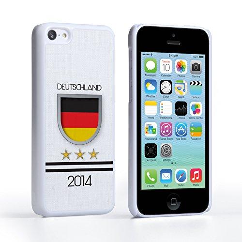Caseflex iPhone 5C Hülle Deutschland Weltmeisterschaft Hart Schutzhülle