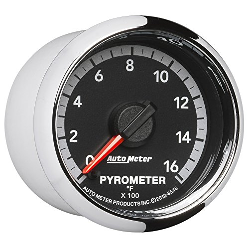 Auto Meter 8546 Factory Match 2-1/16'' Electric Pyrometer (0-1600 Degree F, 52.4mm) by Auto Meter (Image #2)