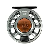 Ross Animas Fly Reel, 5/6, Granite