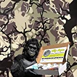 Dip Ape Tactical Branch Camouflage Camo Hunting Military Hydrographics Water Transfer Hydro Dip Dipping Kit