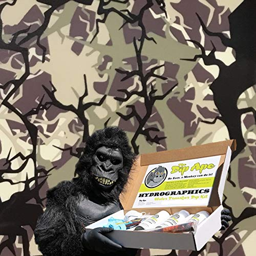 Dip Ape Tactical Branch Camouflage Camo Hunting Military Hydrographics Water Transfer Hydro Dip Dipping Kit by DIP APE