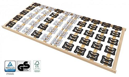 Tellerlattenrost Lattenrost mit Federleisten und Teller-Elementen - geprüft