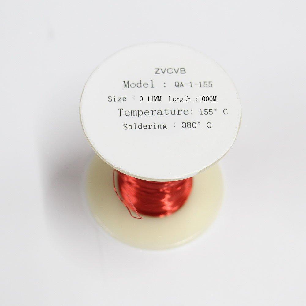 zvcvb rojo imá n alambre esmaltado alambre de cobre magné tico bobina bobinado