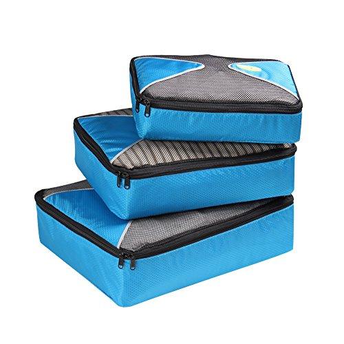 HEXIN Travel Organization Packing Cube Bag 3 Set