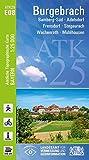 ATK25-E08 Burgebrach (Amtliche Topographische Karte 1:25000): Bamberg-Süd, Adelsdorf, Frensdorf, Stegaurach, Wachenroth, Mühlhausen (ATK25 Amtliche Topographische Karte 1:25000 Bayern)