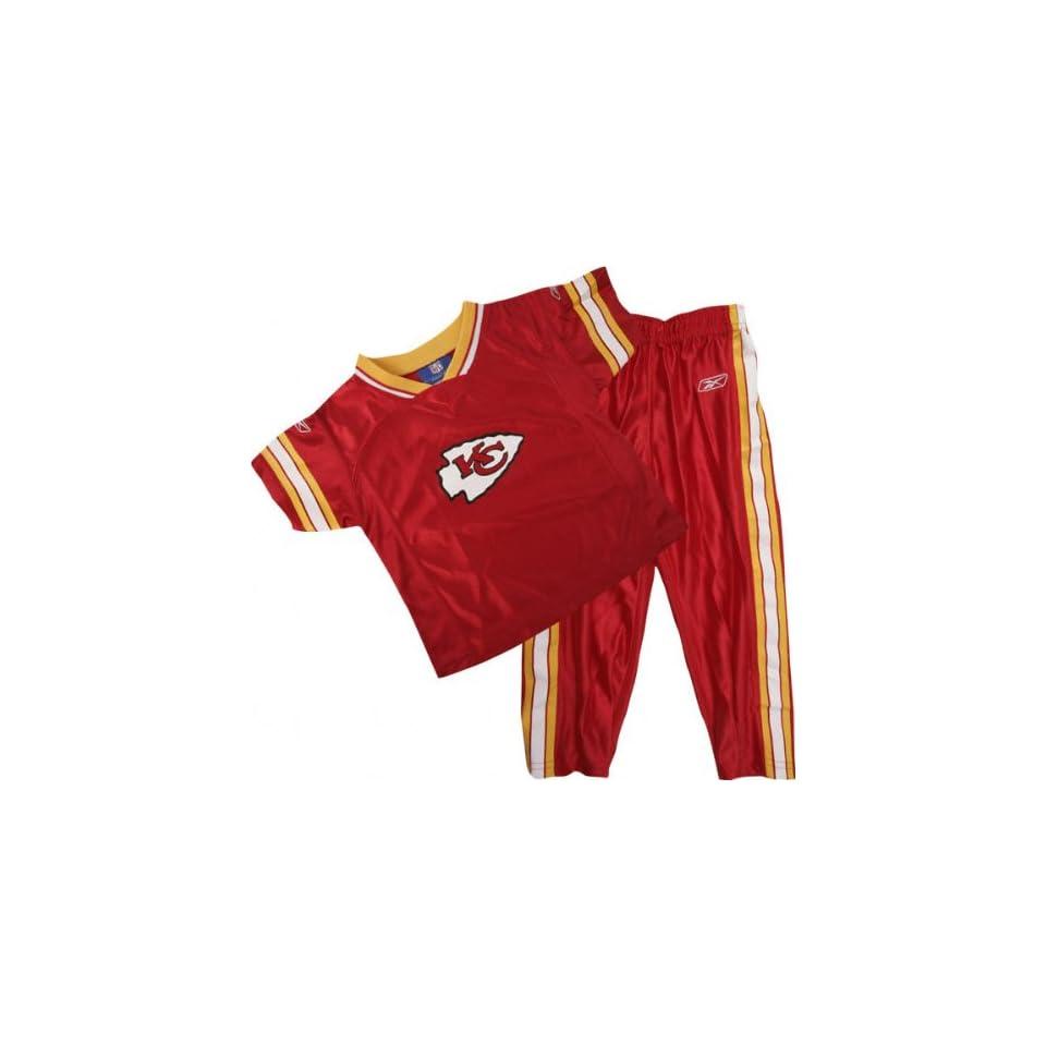 Kansas City Chiefs Toddler Football Jersey & Pant Set