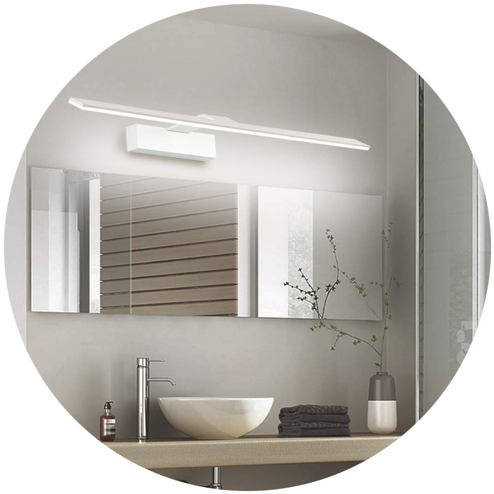 Lianqi 18W 90led Modern Fashion Led Vanity Mirror Wall Light Make Up Wall Sconce Wall Fixtures For Bathroom Toilet Bedroom Dressing Dress Mirror Display Home Lighting