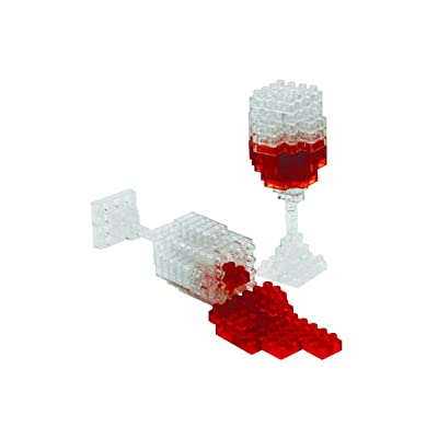 BePuzzled 3D Pixel Puzzle - Wine: Toys & Games